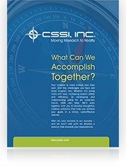 Download the CSSI Firm Profile