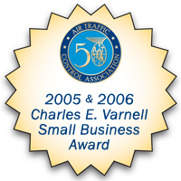 ATCA Charles E. Varnell Small Business Award graphic