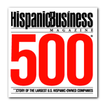 Hispanic Business 500 Largest Hispanic-Owned Companies graphic