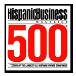 Hispanic Business 500 Largest Hispanic-Owned Companies graphic