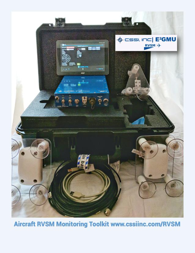 Aircraft RVSM Monitoring Toolkit